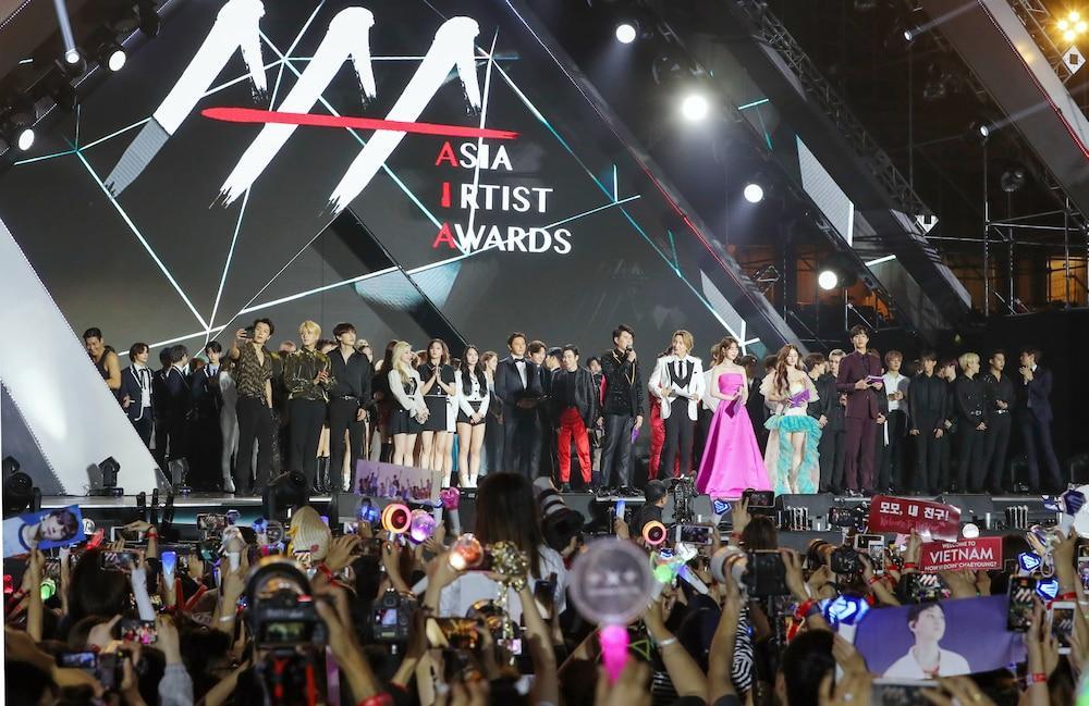 'AAA 2020': Sâu khấu bùng nổ của TWICE, Super Junior, Got7, NCT, ITZY và Kang Daniel Ảnh 2