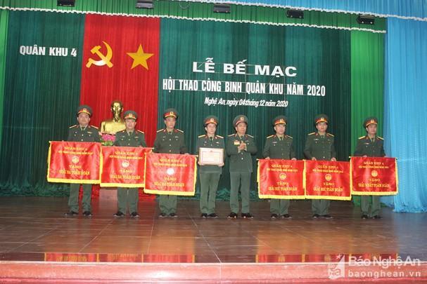 Công binh Bộ CHQS Nghệ An đạt giải Nhì Hội thao Công binh Quân khu 4 Ảnh 4