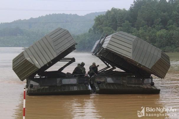 Công binh Bộ CHQS Nghệ An đạt giải Nhì Hội thao Công binh Quân khu 4 Ảnh 1