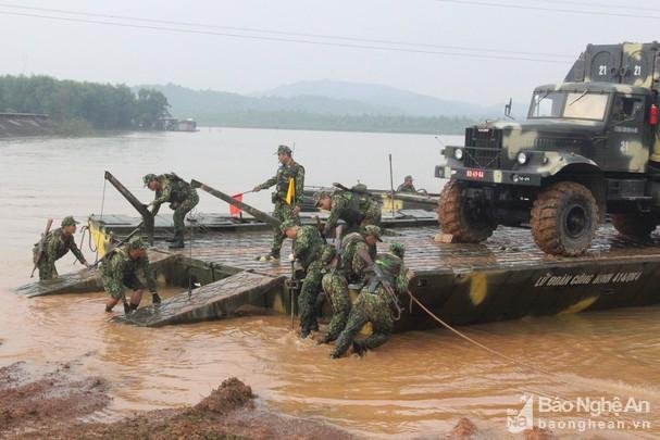 Công binh Bộ CHQS Nghệ An đạt giải Nhì Hội thao Công binh Quân khu 4 Ảnh 2