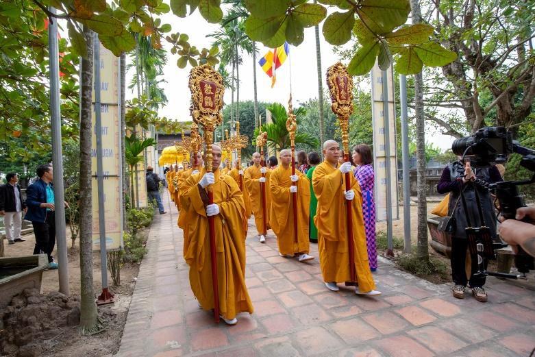 Hành trình cung rước và an vị tượng Phật Hoàng Trần Nhân Tông Ảnh 5