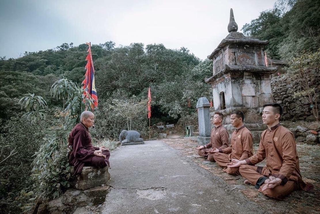 Hành trình cung rước và an vị tượng Phật Hoàng Trần Nhân Tông Ảnh 3