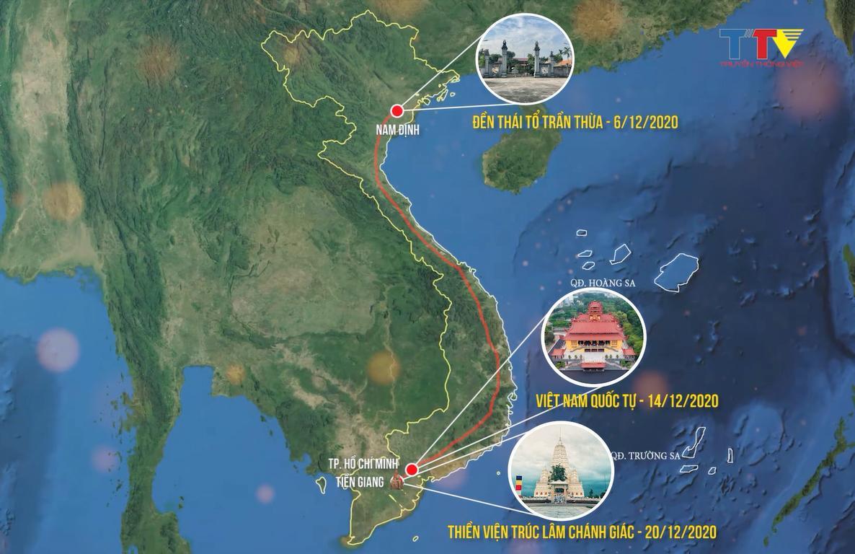 Hành trình cung rước và an vị tượng Phật Hoàng Trần Nhân Tông Ảnh 1