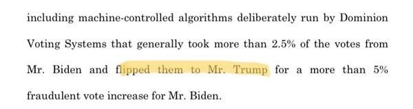 Tổng thống Trump choáng nặng: Ekip cũ viết nhầm rằng chính ông nhận phiếu bầu gian lận Ảnh 2