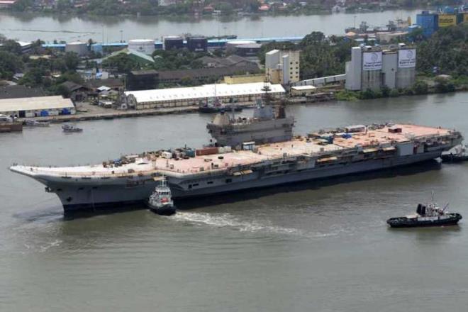 Ấn Độ thử nghiệm thành công tàu sân bay Vikrant Ảnh 1