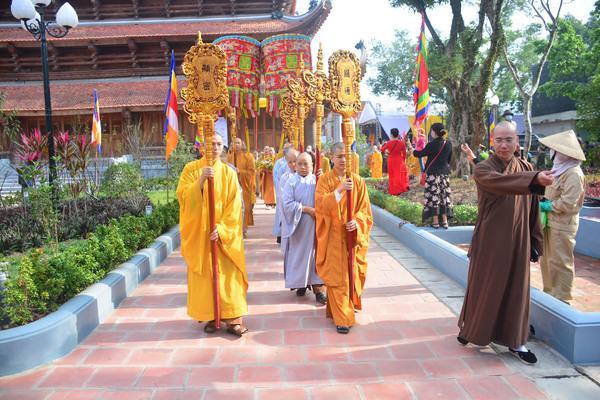 Khánh thành chùa Quỳnh Lâm thiêng liêng Ảnh 1