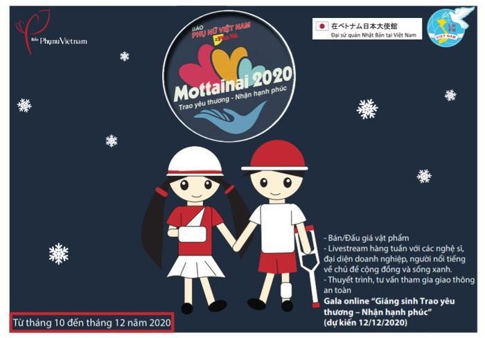 Đang phát: Gala trực tuyến 'Giáng sinh Trao yêu thương - Nhận hạnh phúc' Mottainai 2020 Ảnh 2