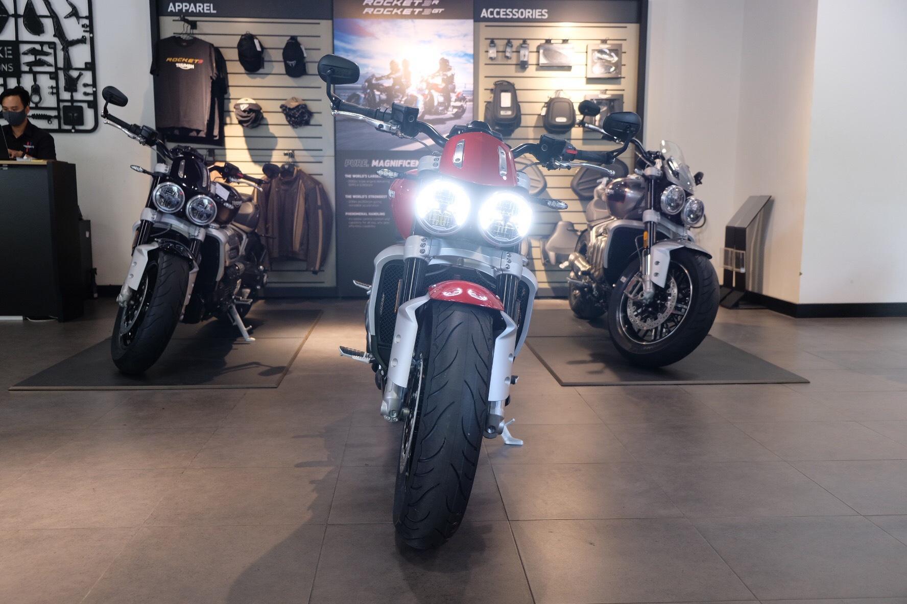 Triumph Rocket 3 bị triệu hồi tại Mỹ vì lỗi phanh ABS Ảnh 1