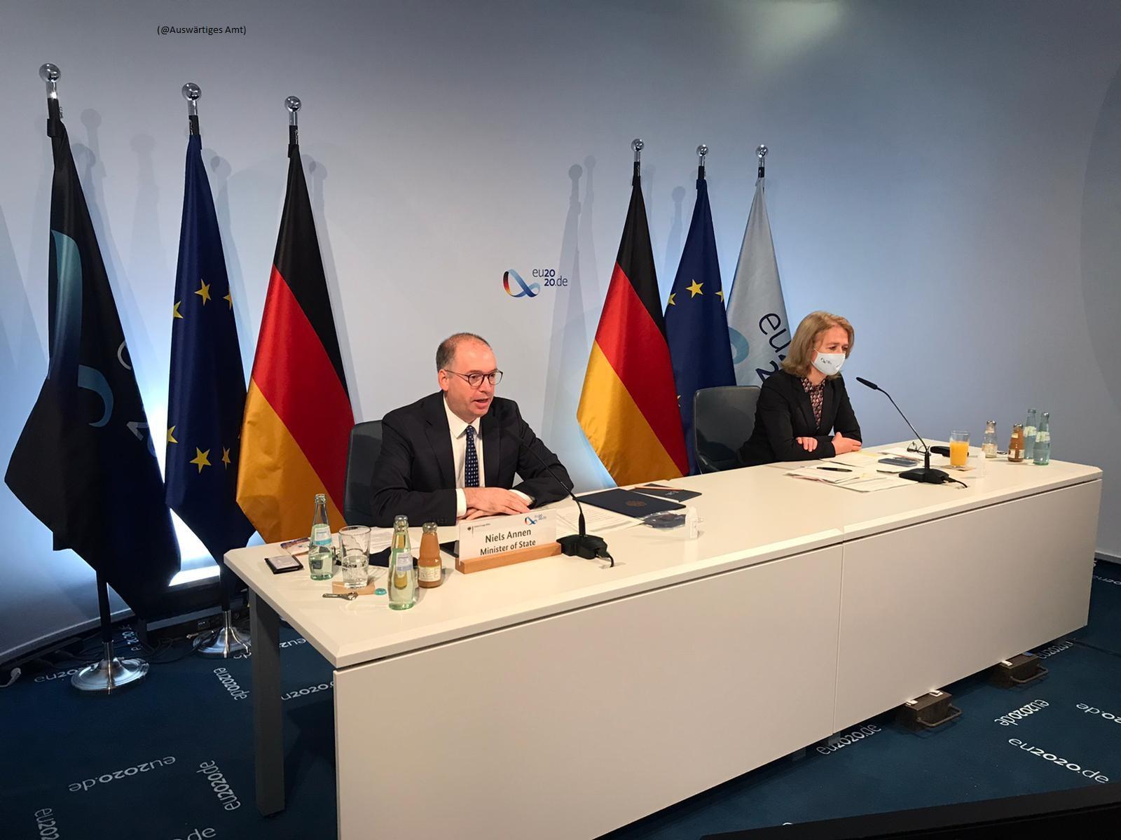 Đức sẽ đóng góp 5 triệu euro vào Quỹ ứng phó COVID-19 của ASEAN Ảnh 1