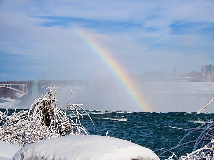 Thác Niagara đống băng vào mùa đông khiến bất cứ ai cũng muốn ghé thăm Ảnh 8
