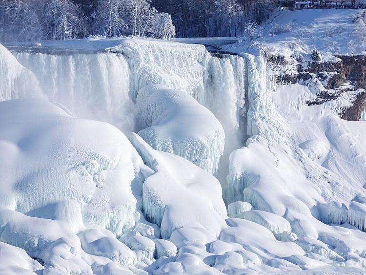 Thác Niagara đống băng vào mùa đông khiến bất cứ ai cũng muốn ghé thăm Ảnh 1