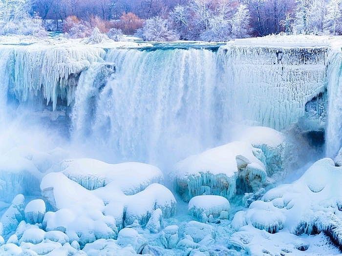 Thác Niagara đống băng vào mùa đông khiến bất cứ ai cũng muốn ghé thăm Ảnh 2