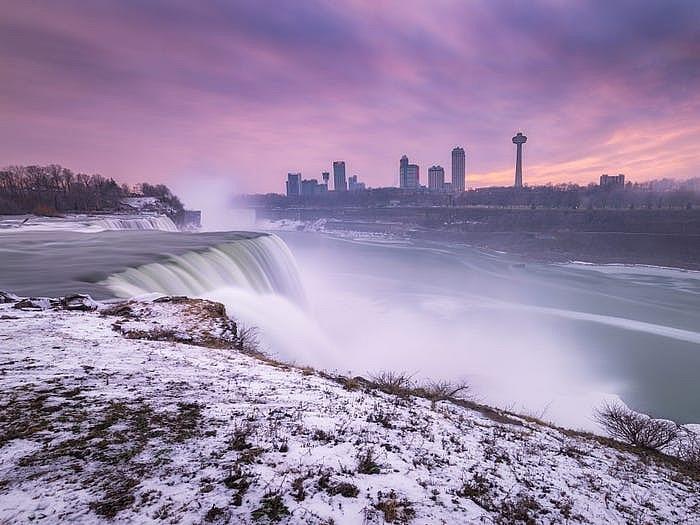 Thác Niagara đống băng vào mùa đông khiến bất cứ ai cũng muốn ghé thăm Ảnh 9