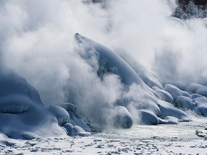 Thác Niagara đống băng vào mùa đông khiến bất cứ ai cũng muốn ghé thăm Ảnh 5