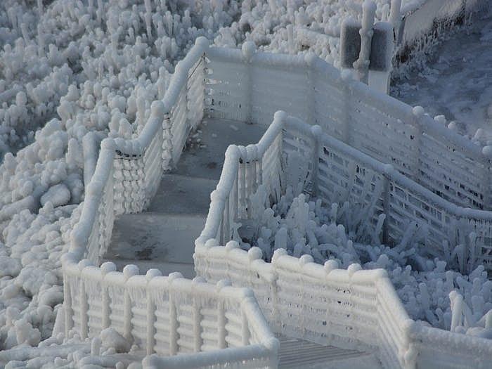 Thác Niagara đống băng vào mùa đông khiến bất cứ ai cũng muốn ghé thăm Ảnh 3