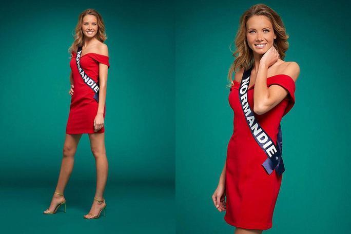 Nhan sắc người mẫu đăng quang Hoa hậu Pháp 2021 Ảnh 4