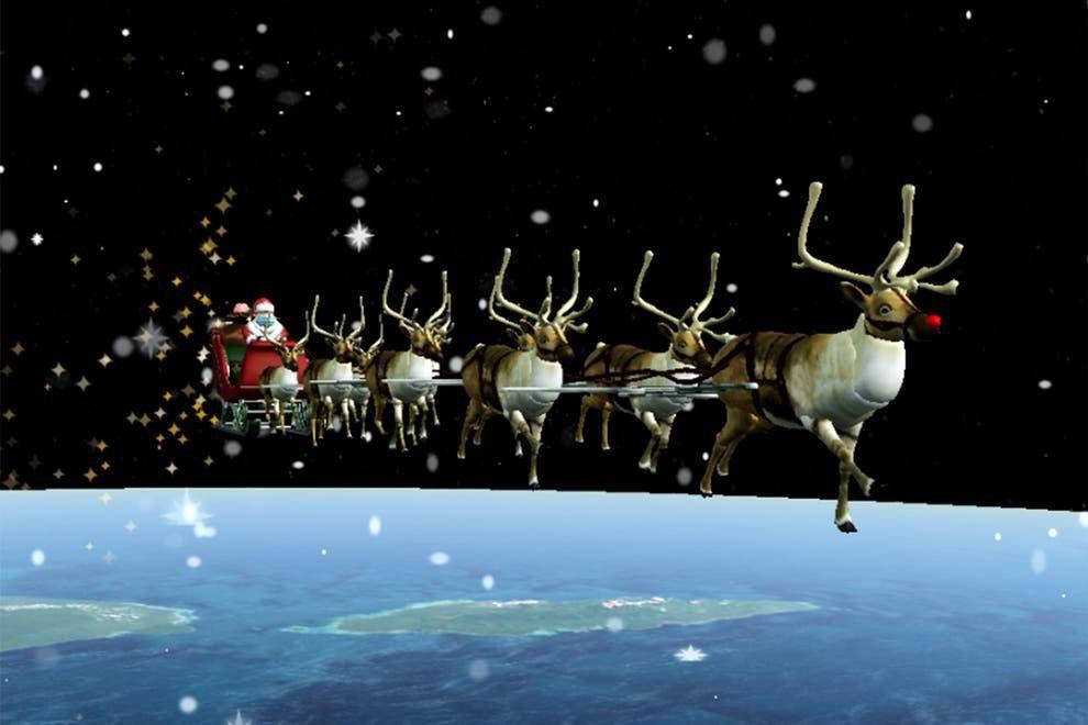 Quân đội Mỹ thông báo Ông già Noel đã lên đường đi phát quà Ảnh 1