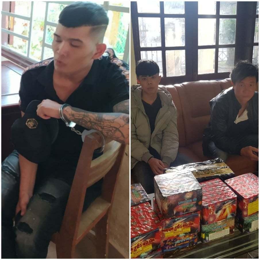Lâm Đồng: Bắt quả tang 3 đối tượng vận chuyển, mua bán pháo nổ Ảnh 1