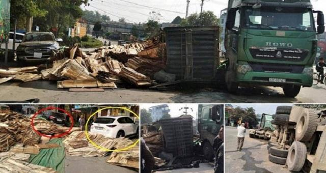Tin tức tai nạn giao thông mới nhất hôm nay ngày 25/12: Xe tải chở đá trắng bị lật, đường sắt Bắc - Nam tê liệt Ảnh 3
