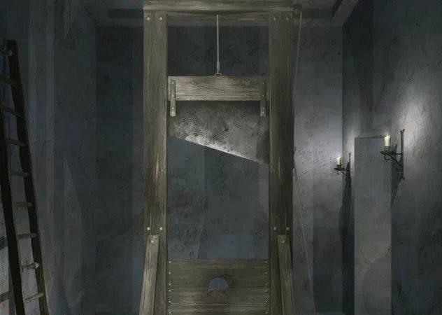 Bí mật tử hình bằng máy chém tàn khốc thời trung cổ Ảnh 5