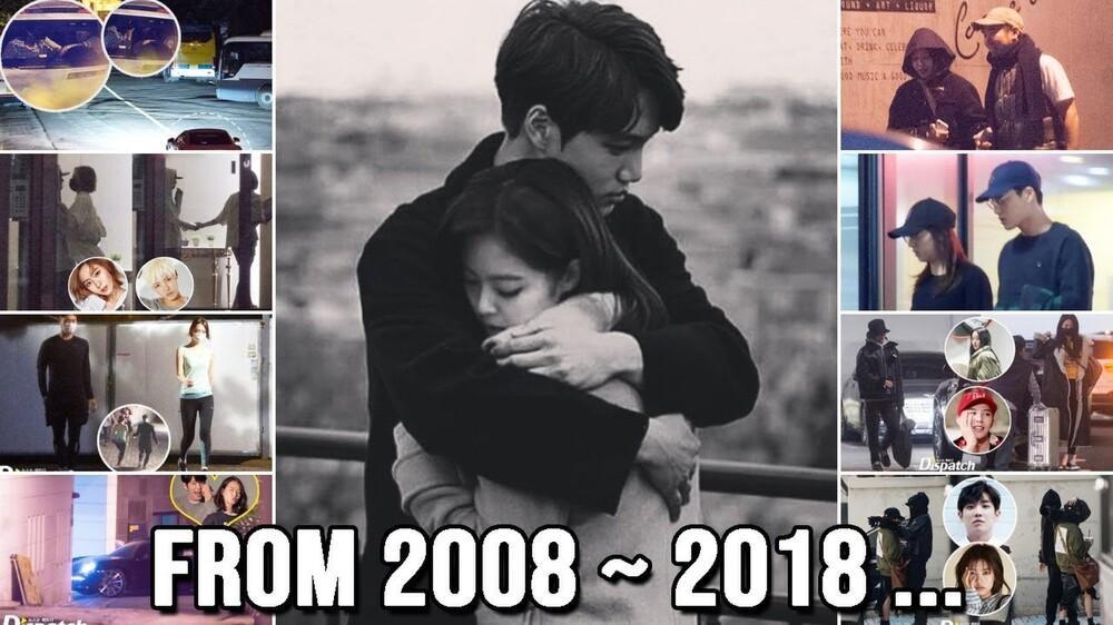 Dispatch khui tin hẹn hò của 37 cặp nổi tiếng trong 11 năm, couple 01/01/2021 sẽ là ai? Ảnh 1