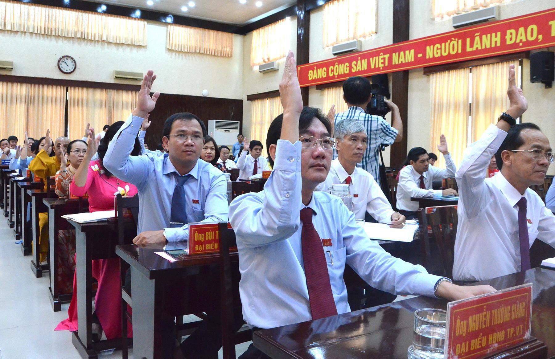 HĐND TP. Vũng Tàu thông qua 14 Nghị quyết quan trọng Ảnh 1