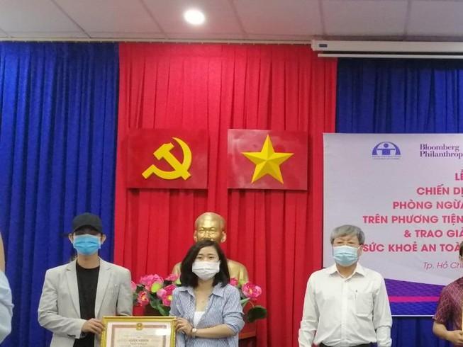 'Virus du hí' đạt giải nhất cuộc thi về phòng dịch COVID-19 Ảnh 1