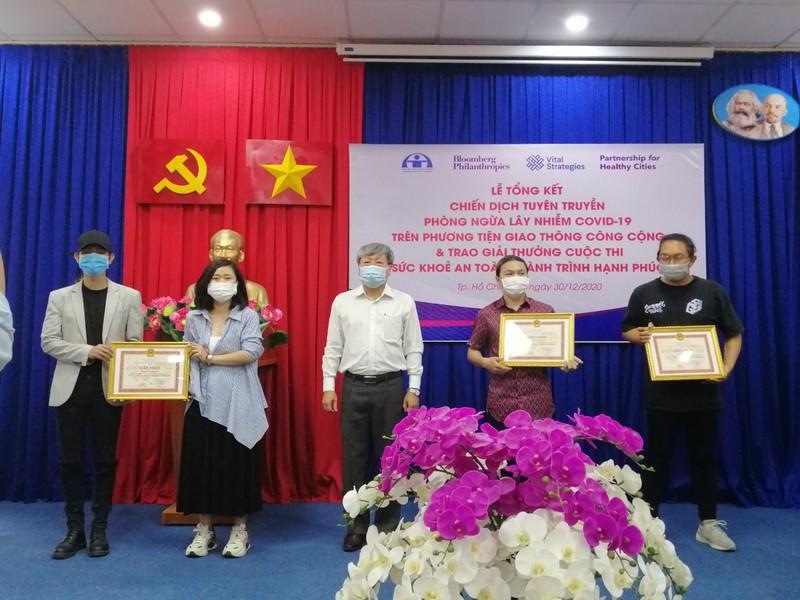 'Virus du hí' đạt giải nhất cuộc thi về phòng dịch COVID-19 Ảnh 2