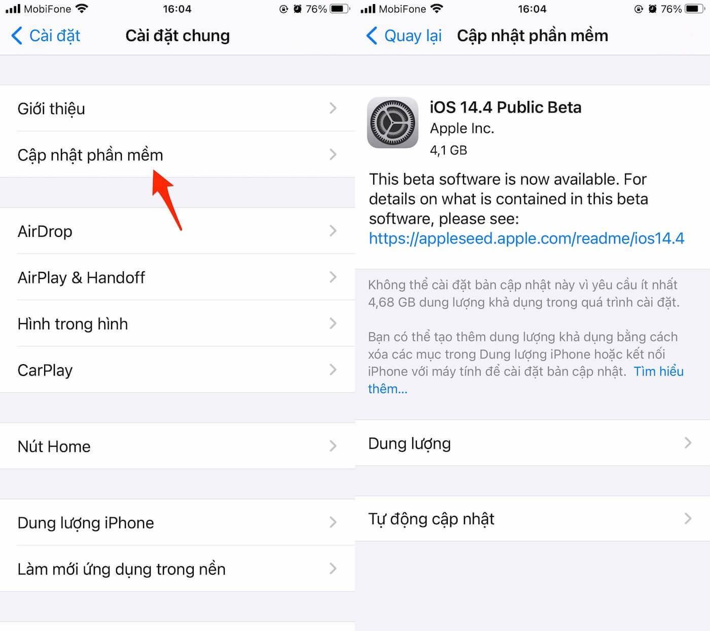 4 cách sửa lỗi iPhone không hiển thị bàn phím ảo Ảnh 1