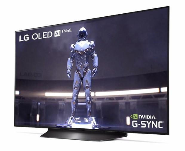 Hãng LG trình làng màn hình uốn cong tạo âm thanh 48 inch Ảnh 1