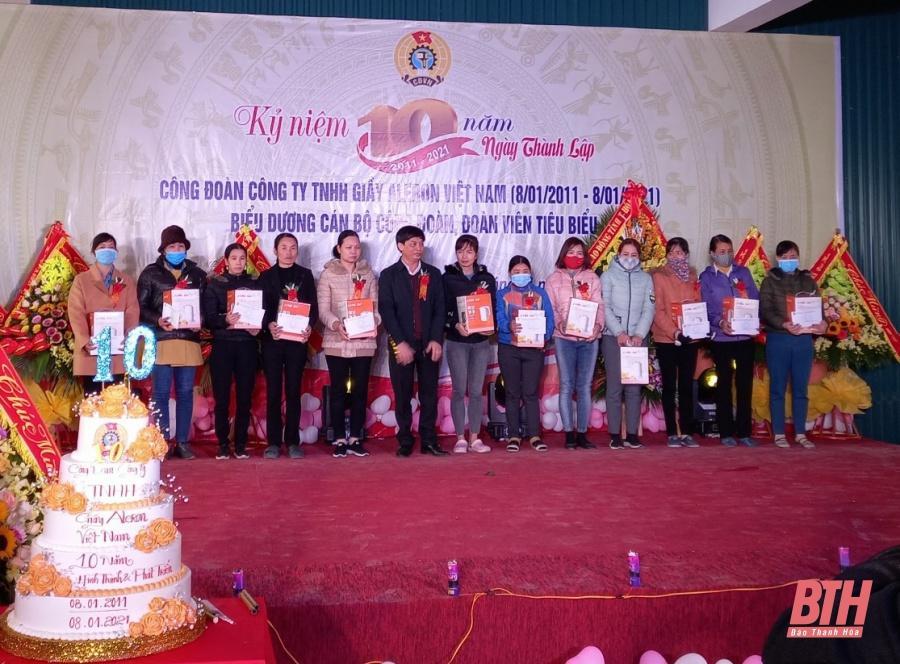 Công đoàn Công ty TNHH Giày Alezon Việt Nam: Điểm tựa tin cậy của người lao động Ảnh 2