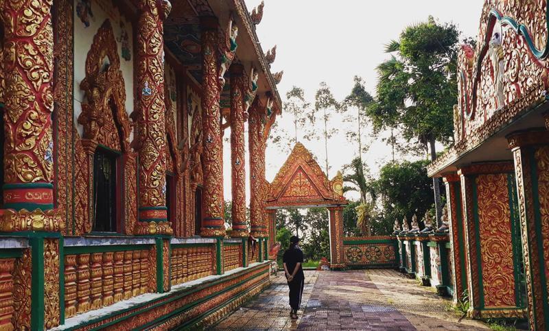 Chùa Đìa Muồng - nơi lưu giữ nét văn hóa độc đáo Khmer Ảnh 2