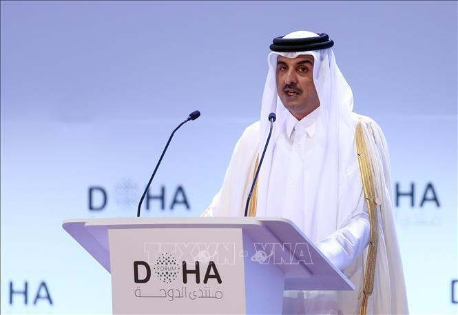 Quốc vương Qatar lần đầu thăm Saudi Arabia kể từ khi nổ ra khủng hoảng Ảnh 1