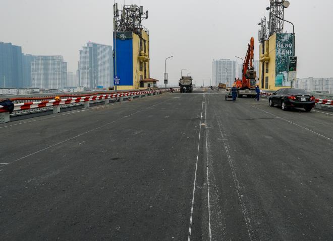 Xe buýt, ô tô đi lại thế nào sau khi thông xe cầu Thăng Long? Ảnh 1