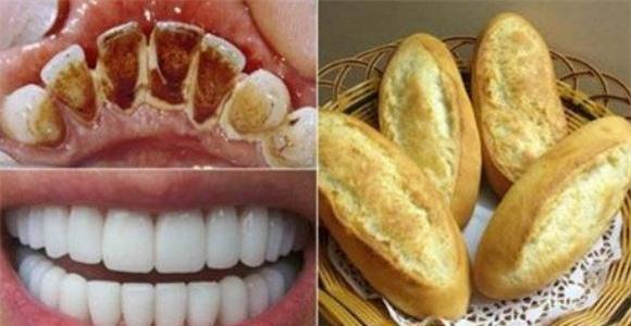 Dùng bánh mỳ cao răng bao nhiêu cũng bong sạch Ảnh 2