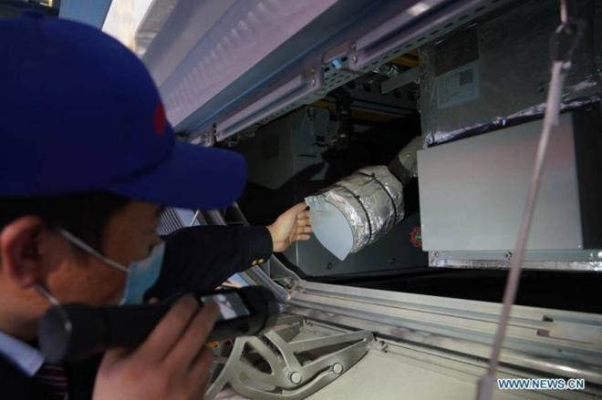 Trung Quốc ra mắt tàu điện cao tốc mới 'bất chấp giá lạnh' Ảnh 3