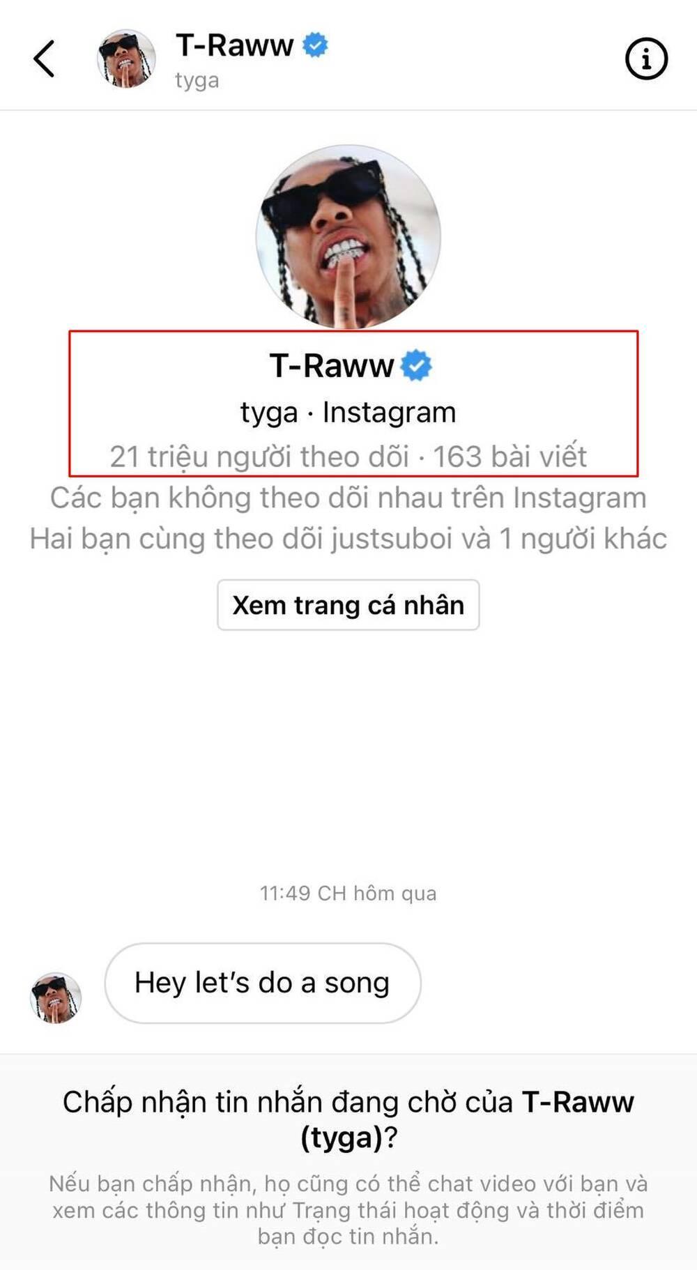 'Hai phút hơn' gây bão toàn cầu, Pháo được đích thân rapper nổi tiếng Tyga nhắn tin ngỏ lời hợp tác Ảnh 2