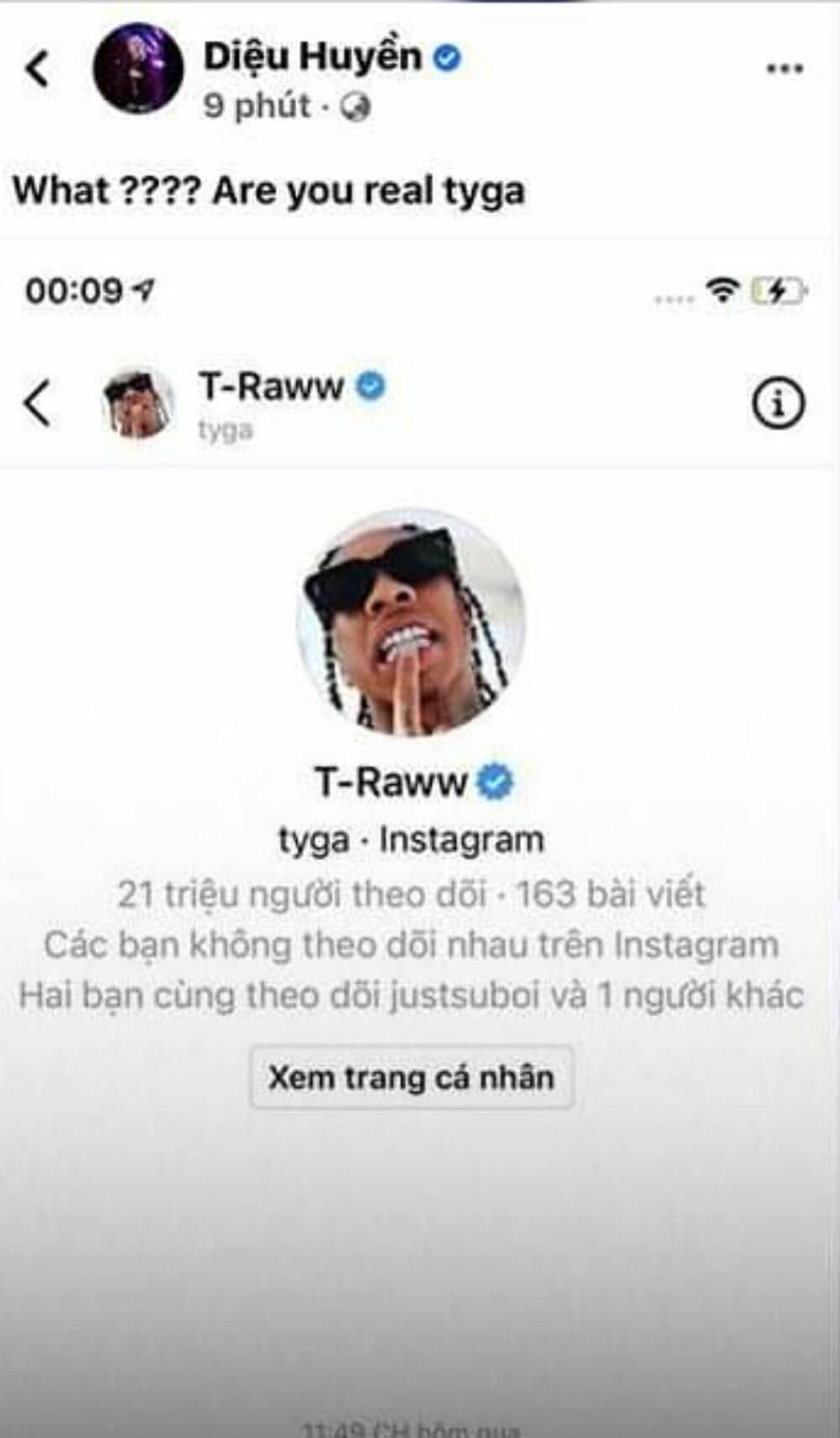 'Hai phút hơn' gây bão toàn cầu, Pháo được đích thân rapper nổi tiếng Tyga nhắn tin ngỏ lời hợp tác Ảnh 1
