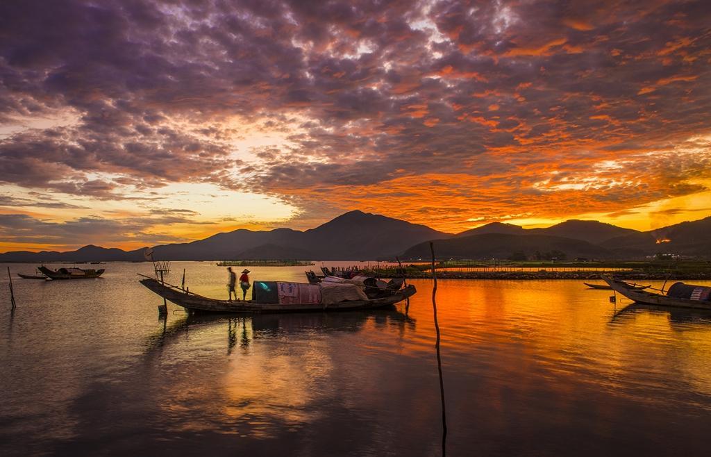 Vẻ đẹp đầm Cầu Hai qua góc nhìn của tay máy Khang Chu Long Ảnh 8