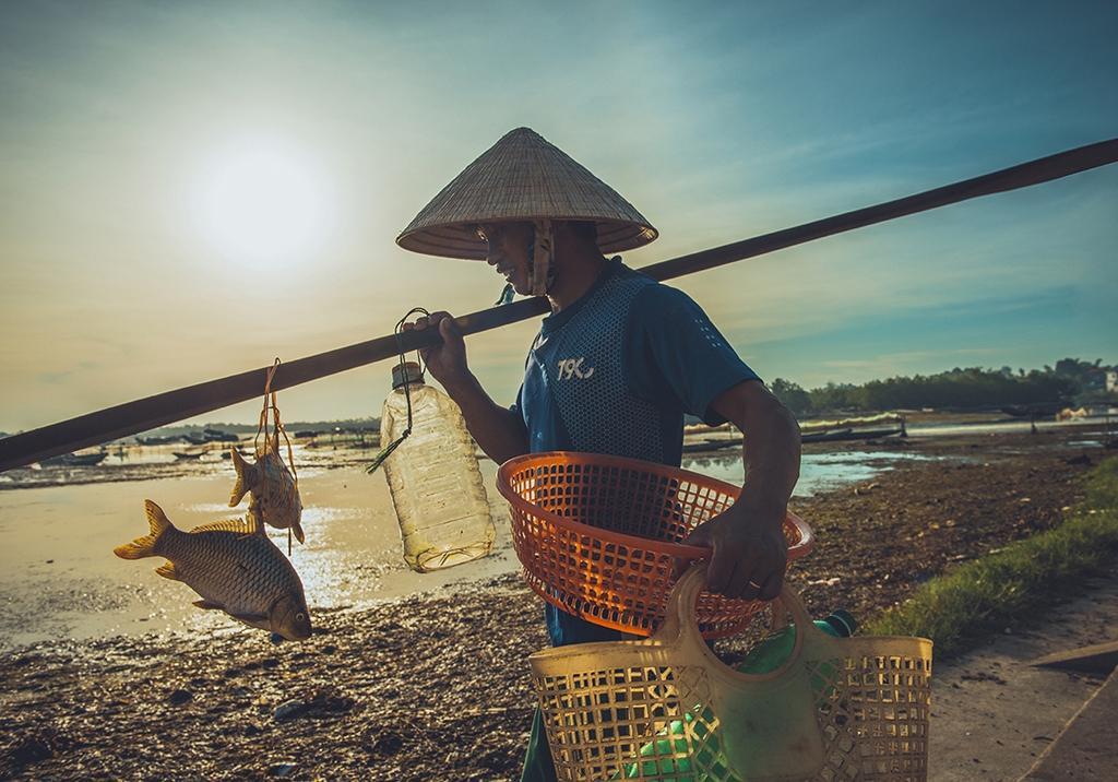 Vẻ đẹp đầm Cầu Hai qua góc nhìn của tay máy Khang Chu Long Ảnh 4