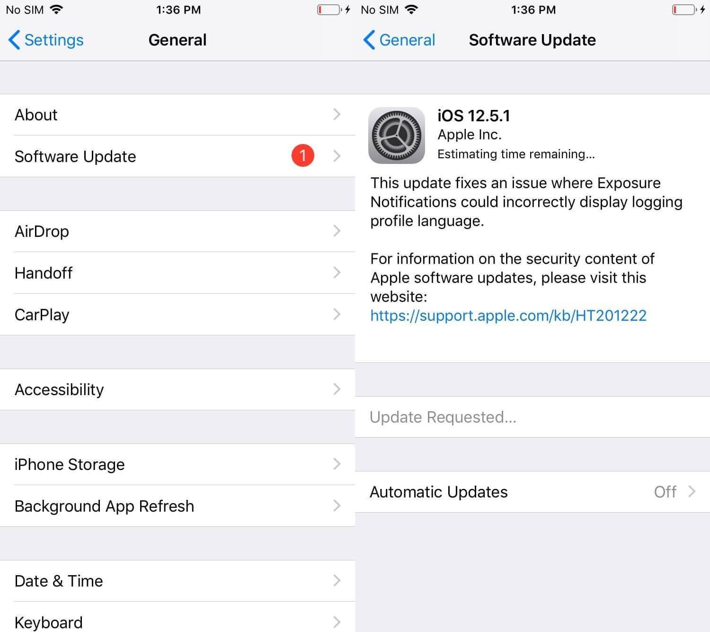 Người dùng iPhone đời cũ nên cập nhật ngay iOS 12.5.1 Ảnh 1