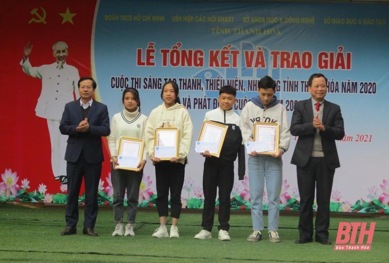256 mô hình, sản phẩm tham gia Cuộc thi 'Sáng tạo thanh thiếu niên, nhi đồng tỉnh Thanh Hóa ' năm 20 20 Ảnh 1