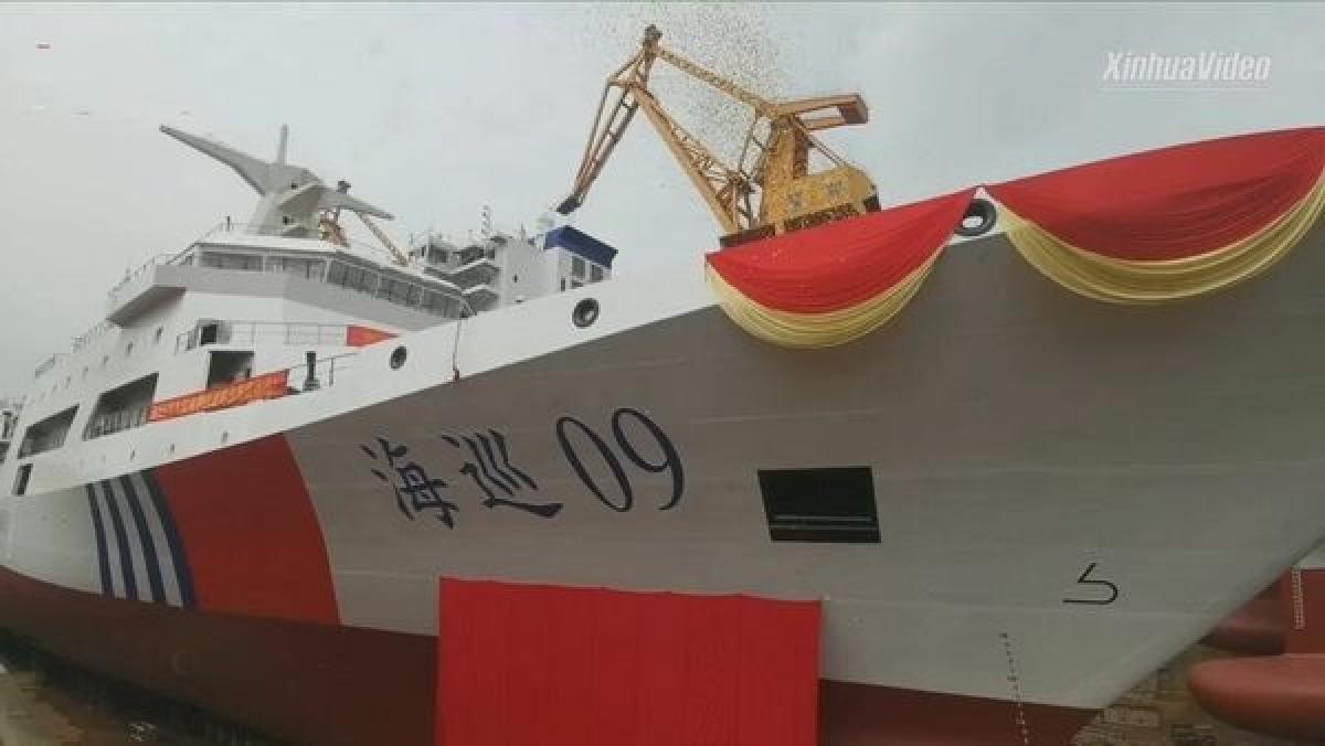 Trung Quốc đưa tàu tuần dương tự sản xuất lớn nhất vào hoạt động trong năm 2021 Ảnh 1