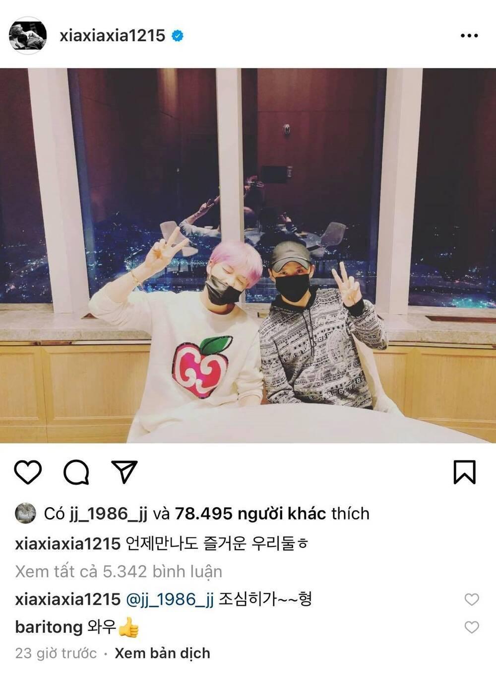 Fan hâm mộ 'rớt nước mắt' trước khoảnh khắc hội ngộ của Junsu và Jaejoong (JYJ) Ảnh 7