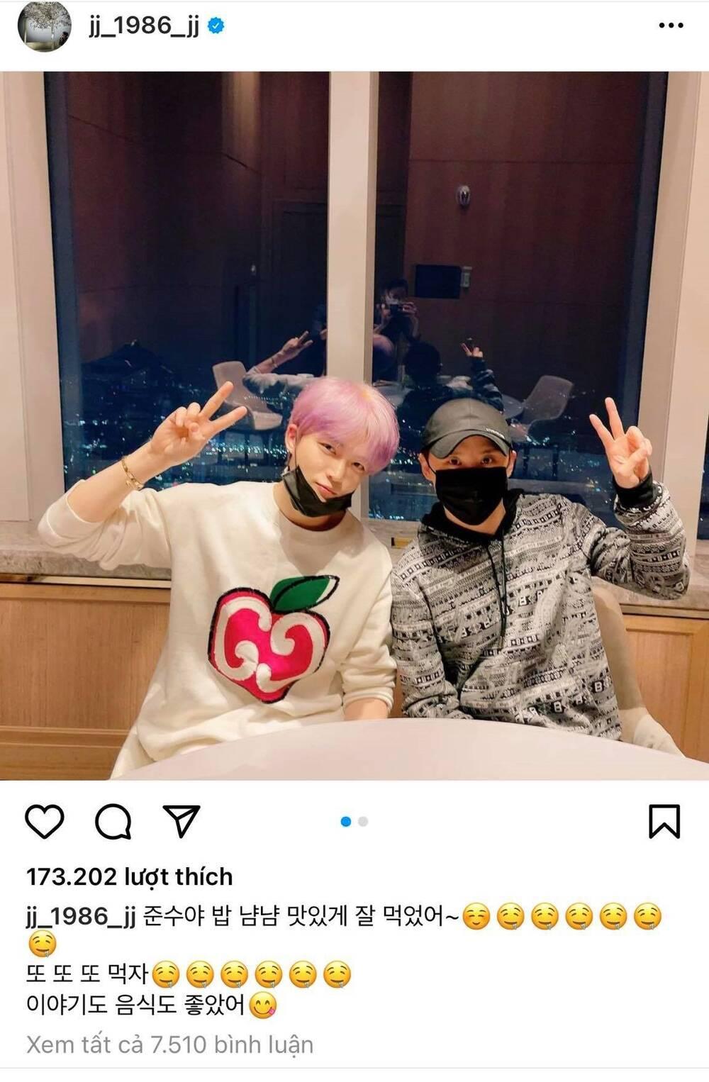 Fan hâm mộ 'rớt nước mắt' trước khoảnh khắc hội ngộ của Junsu và Jaejoong (JYJ) Ảnh 6