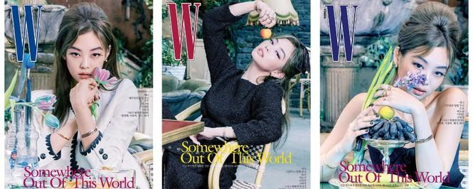 Jisoo BLACKPINK khoe nhan sắc cực kỳ ấn tượng trên bìa W Hàn, nhưng netizen lại nhắc đến Lisa Ảnh 5