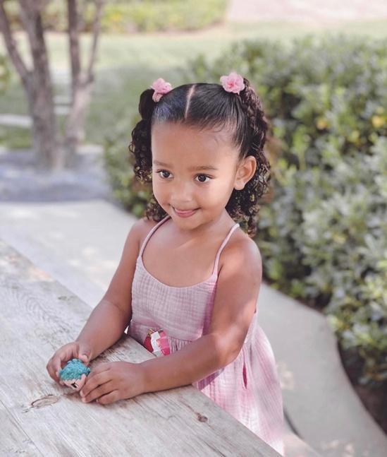 Con gái 3 tuổi của Kim Kardashian Ảnh 1