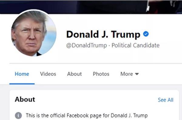 Bỏ chặn tài khoản Tổng thống Trump, Facebook và Twitter không quên đổi luôn chức danh Ảnh 1