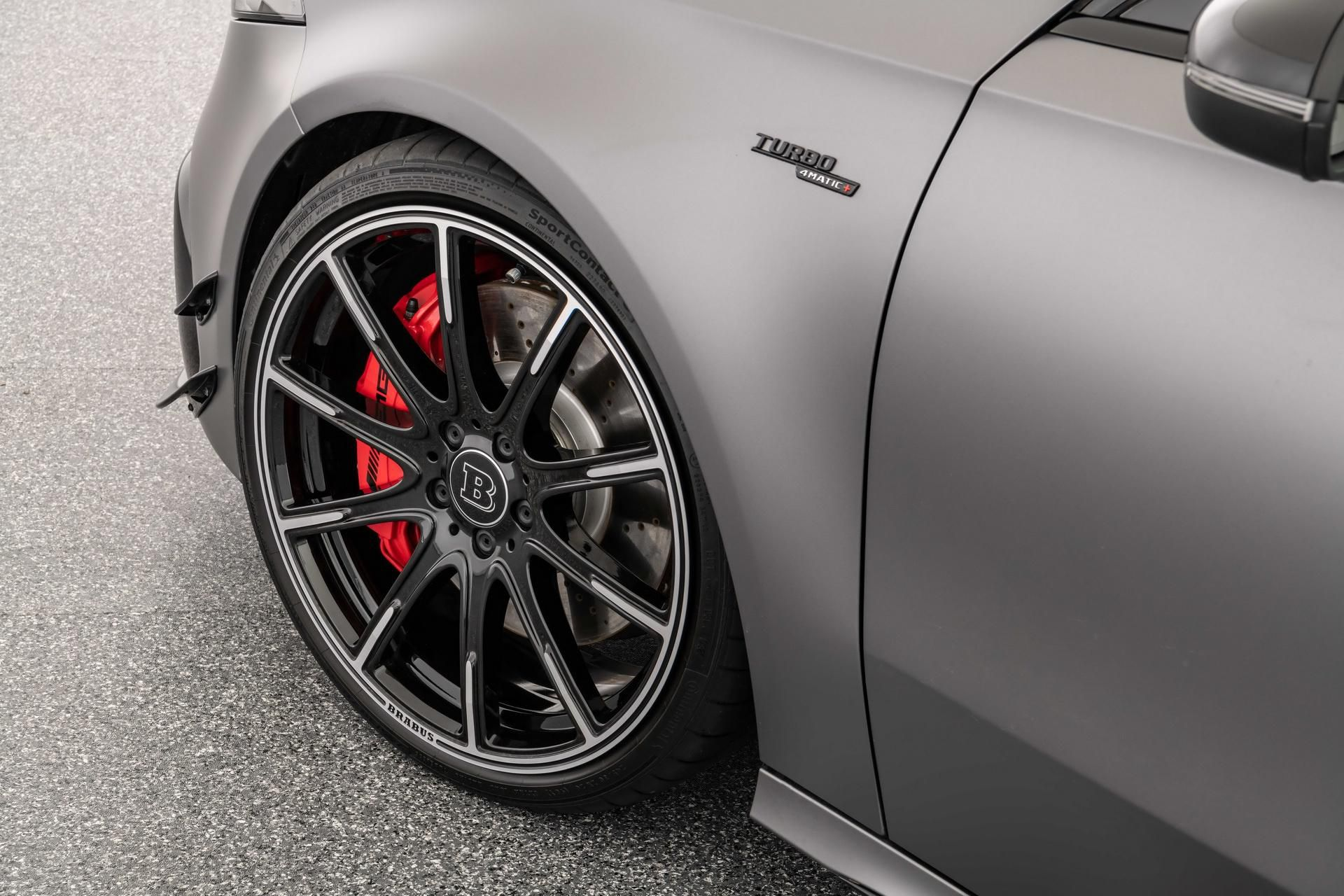 Mercedes-AMG A 45 S được Brabus nâng cấp động cơ mạnh 444 mã lực Ảnh 9