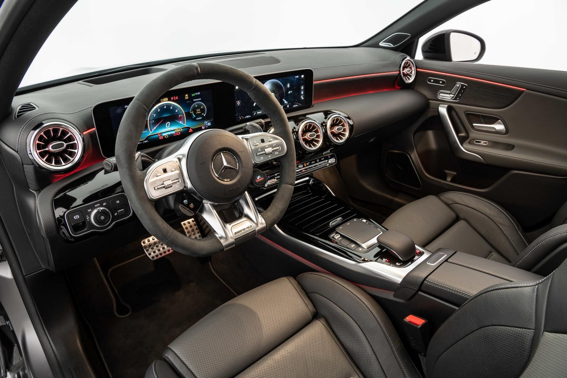 Mercedes-AMG A 45 S được Brabus nâng cấp động cơ mạnh 444 mã lực Ảnh 12